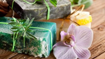 Parsley soap