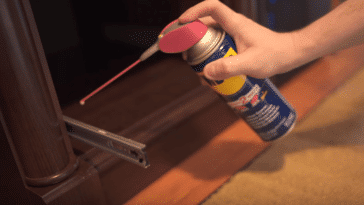 using WD40